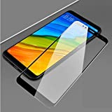 MobiExpress 5D 9H Hardness Tempered Glass for Redmi Note 5 Pro (Black) Full Edge