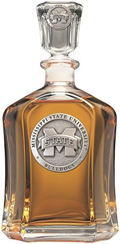 Mississippi State Bulldogs Team Glass - Mississippi State Bulldogs Capitol Decanter