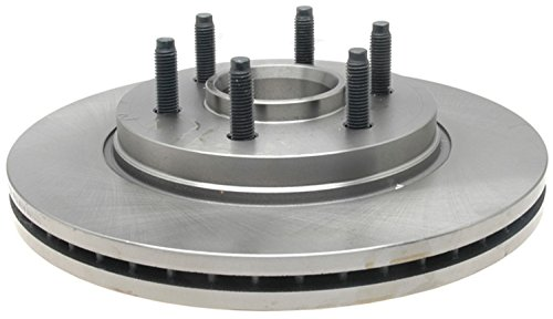 ACDelco 18A1623A Advantage Non-Coated Front Disc Brake Rotor and Hub Assembly - Ford Truck Rotors