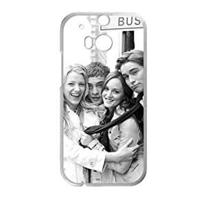 gossip girl blair serena nate and chuck Phone Case for HTC One M8