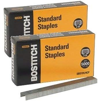 B8 PowerCrown Premium Staples 0.25 Inch Leg Full-Strip STCR21151//4 New