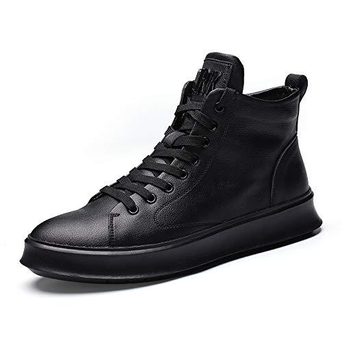 LOVDRAM Stiefel Männer Winter Herrenschuhe In Den Freizeitschuhen Mode Mode Schuhe Wilde Student Herrenschuhe