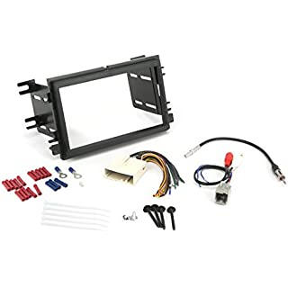 Sale Off Install Centric ICFD6BN Ford/Lincoln/Mercury 2004-08 Double DIN Premium Sound Complete Installation Solution for Car Stereos