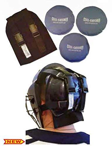 Black Baseball/Softball Cool-Catcher with 3 Soft Cold Gel Packs