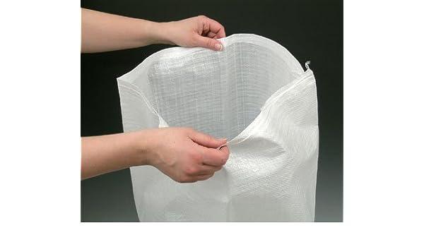 14 x 21 Woven Polypropylene Sandbags White 100 Bags - AB-30-2-161