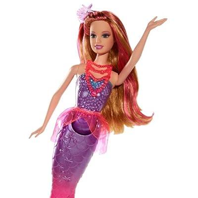 Barbie and The Secret Door Princess Mermaid Doll: Toys & Games