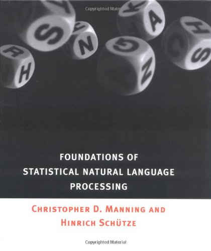 Foundations of Statistical Natural Language Processing by imusti