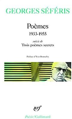 Poèmes Trois Poèmes Secrets 1933 1955 Poésie Amazon