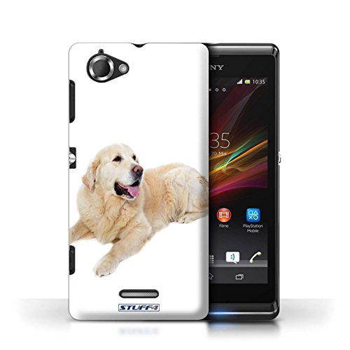 Etui / Coque pour Sony Xperia L/C2105 / Labrador conception / Collection de Chiens