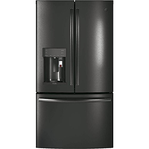 GE Profile PYE22PBLTS 36 Inch Counter Depth French Door Refr