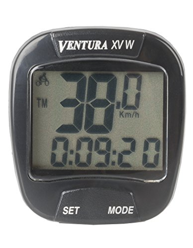 Ventura XVW Wireless 15 Fuction Bicycle Computer