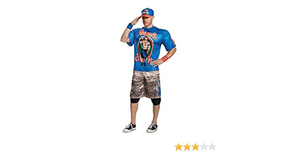0b9675fde3e Amazon.com  Disguise Men s John Cena New Muscle Adult Costume  Clothing