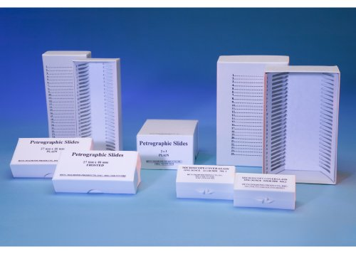(Petrographic Slide Boxes for 27 X 46 Slides (Set of 10))