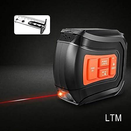 Carga de láser digital de telémetro con visión directa telémetro láser banda de 40/60 m nueva tira de 5m USB LTM LOMVUM LCD Láser,5M