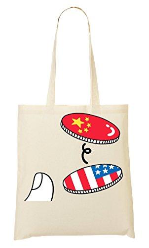 CP Fourre Tout Flip Sac Sac China Usa Provisions À Coin crSBcT