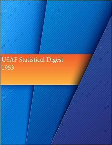 Book USAF Statistical Digest, 1953 (USAF Summary)