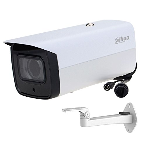 Dahua 6MP POE IP Camera IPC-HFW4631F-ZSA 2.7-13.5mm Motorized VF Lens H.264/H.265 ONVIF, IR 60m, IK10 With Built in MIC and Micro SD Memory Bullet Network Camera (Bracket Included)