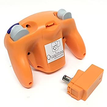 Wireless 2.4ghz Controller Gamepad For Nintendo Gamecube & Nintendo Wii (Spice Orange) 1