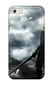 Personality customization Fashion Case For Iphone 5/5s- Final Fantasy 7 Advent Children Defender Case Cover At PLUS6A case