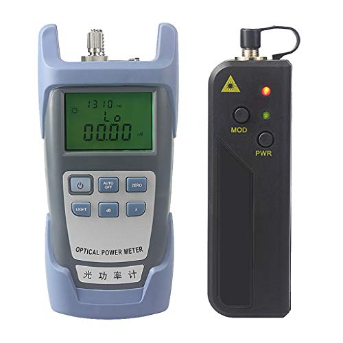 Baosity AUA-9 Fiber Optic Cable Tester Optical Power Meter with Sc & Fc Connector Fiber Tester + 20mW Visual Fault Locator Equipment for CATV Test,CCTV Test by Baosity (Image #3)