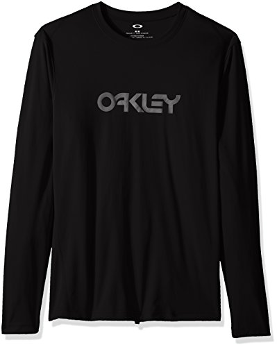 Oakley Men's LS Surf Tee, Blackout, XL (Guard Rash Oakley)