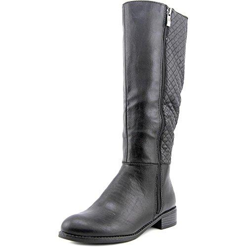 Life Stride Safe Damen US 7 Schwarz Mode-Knie hoch Stiefel