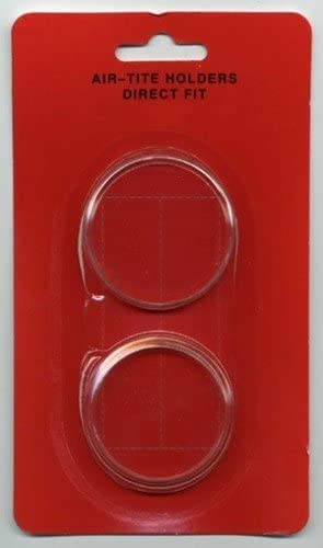 Air-Tite Coin Capsule Holders Y63 Direct Fit Qty 10