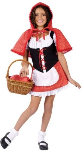 [Child's Little Red Riding Hood Costume Size Small (4-6) by WMU] (Little Red Riding Hood Costumes Child)