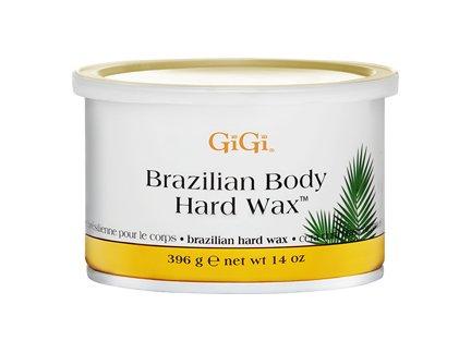 GIGI Tin Brazilian Body Hard Wax 14 oz. (Case of 6)