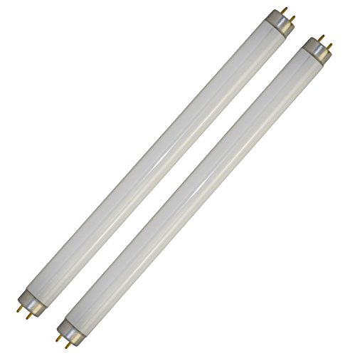 20 Watt Zapper Replacement Bulbs - 2-Pack T8 10 Watt UV Tubes for Kill Pest - Fits Most 20W Bug Zappers