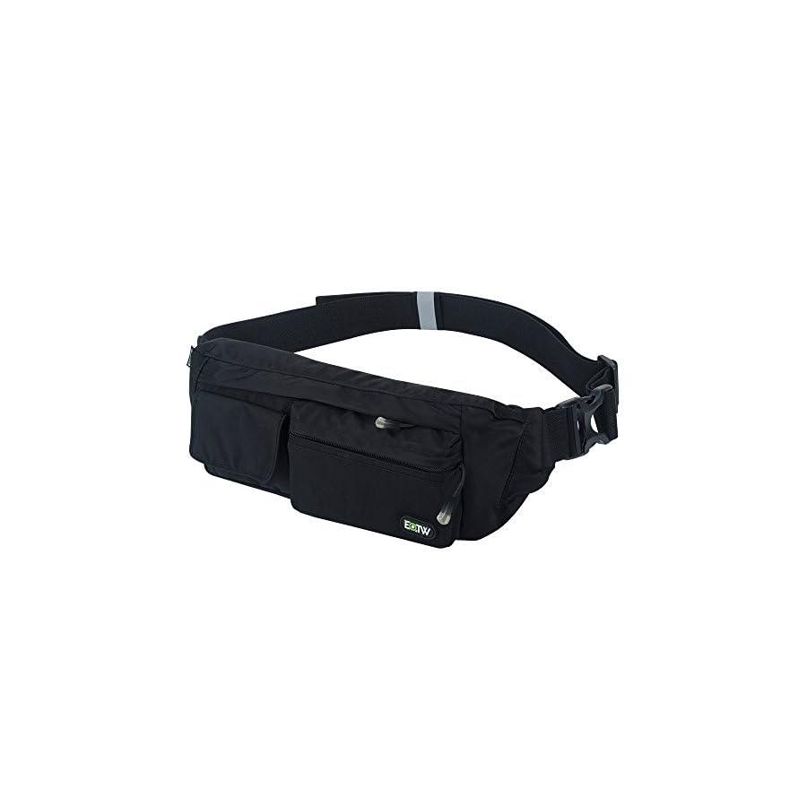 a3acbe8f99 EOTW Fanny Pack Waist Bag Travel Pocket Sling Chest Shoulder Bag Phone  Holder Running Belt with Separate ...