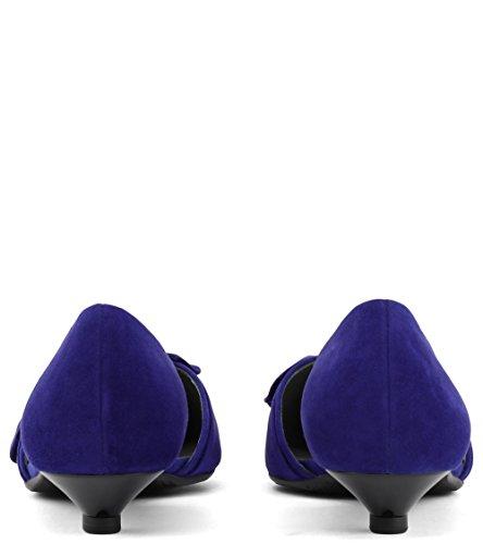 Donne Kaiser D'orsay Blau Pompe Di Peter ZxHawwY6nq