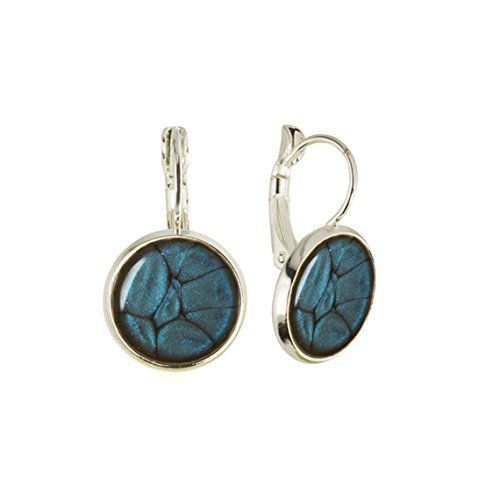 Oval Turquoise Drop Earrings for Darling in a Gift Bag by Dragon Porter EP6BsSBjHg