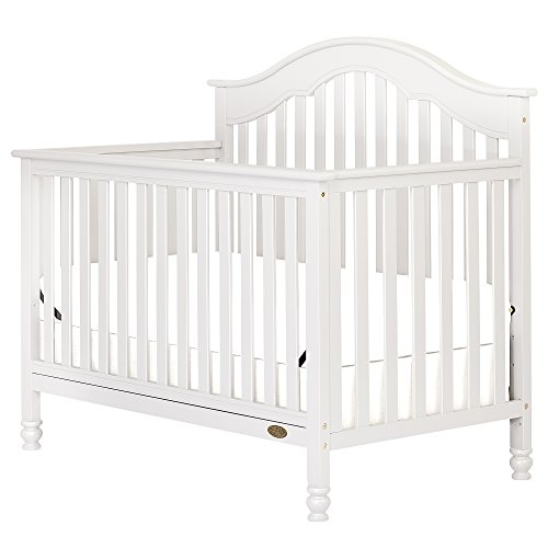 Dream On Me Charlotte 5-in-1 Convertible Crib, White
