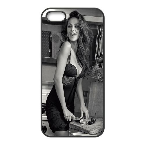 Madalina Diana Ghenea21 coque iPhone 5 5S cellulaire cas coque de téléphone cas téléphone cellulaire noir couvercle EOKXLLNCD25689