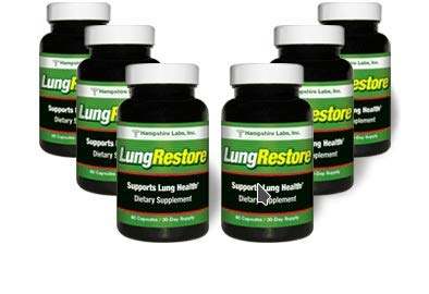 LungRestore | Respiratory Support Formula All-Natural Lung Supplement Addresses Breathing Issues Like Asthma, Allergy & Bronchitis Herbal Lung Cleanse Promotes Healthy Lungs |180 Day Supply