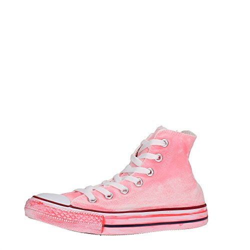 Converse All Star Hi - Zapatillas Abotinadas Unisex Adulto Neon rose
