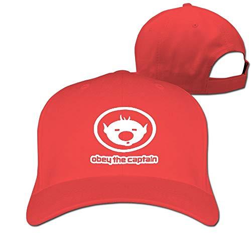(Captain Olimar Pikmin Video Game Unisex Men's Cap Originals Low Profile Cotton Adjustable Dad Hat Red)