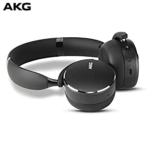 AKG Y500 On-Ear Foldable Wireless Bluetooth H...