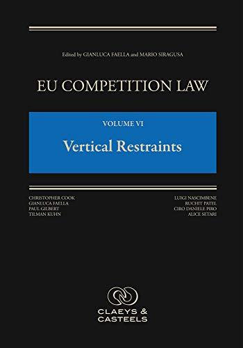 Pdf Law EU Competition Law Volume VI, Vertical Restraints
