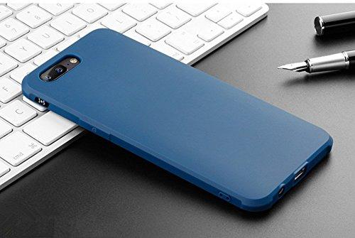 oneplus 5 Funda, Calidad Premium Cubierta Delgado Caso de TPU Silicona Funda Protective Case Cover para oneplus 5 Azul