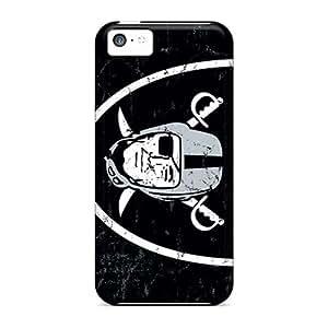 Iphone 5c MQJ17182cWVe Unique Design HD Oakland Raiders Series Protective Hard Phone Cases -JasonPelletier