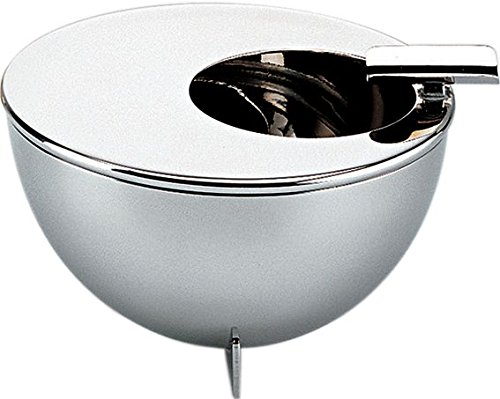 Bauhaus Ashtray Material: Inox by Alessi