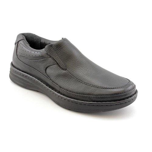 Drew Shoe Men's Bexley Loafers, Black Leather, Polyurethane, 7.5 ()