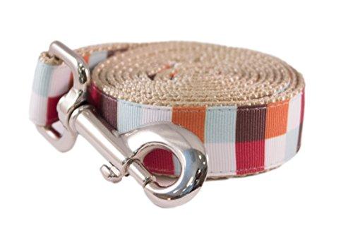 Paw Paws USA Hula Block Dog Leash, Large, Multicolored ()