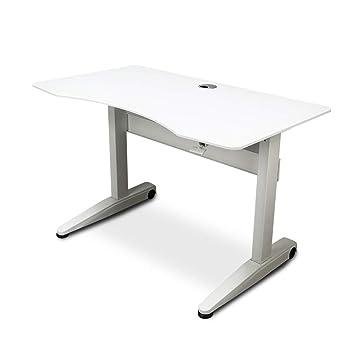 Escritorio de computadora en Blanco y Negro, Mesa de casa ...