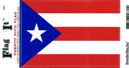 (Puerto Rico decal for auto, truck or boat)
