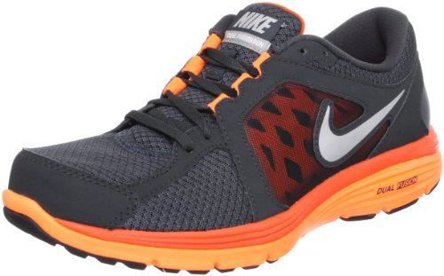 NIKE DUAL FUSION RUR MSL ANTHRACT/MTLLC SIVR-TTL ORNG-TM Style# 525761 MENS Size: 9.5