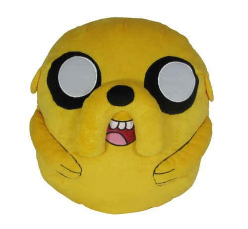 Adventure Time by Jake Cuddle Plush by Time Jazwares f67990