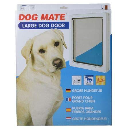 Dog Mate Multi Insulation Dog Door - White (6 Pack)